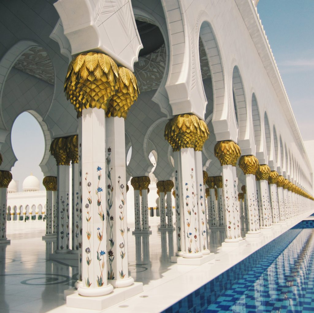 Sheikh Zayed Mosque Abu Dhabi, UAE